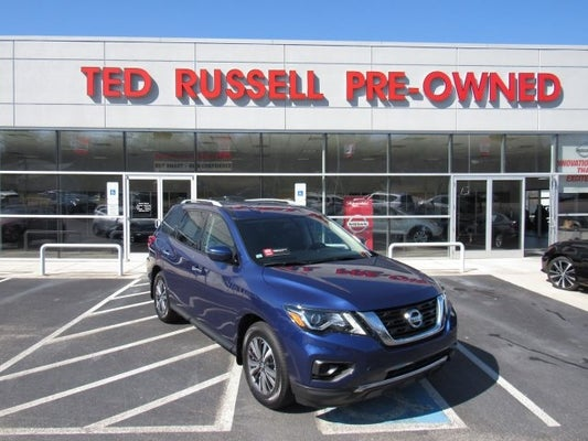 Ted Russell Nissan >> 2019 Nissan Pathfinder S Knoxville TN | serving Farragut Tennessee 5N1DR2MN0KC596443